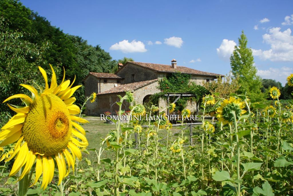 RESTORED FARMHOUSE WITH POOL FOR SALE ANGHIARI.