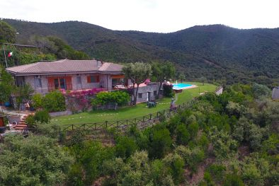 SEA VIEW VILLA WITH POOL FOR SALE IN PUNTA ALA, TUSCAN COAST, PANORAMIC VIEW, CASTIGLIONE DELLA PESCAIA