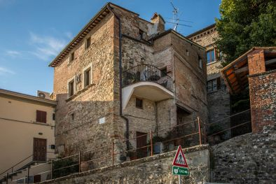 TOWN HOUSE WITH PANORAMIC VIEW FOR SALE, ANGHIARI