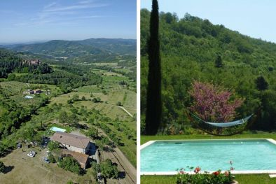 AREZZO FARMHOUSE WITH ANNEX AND POOL