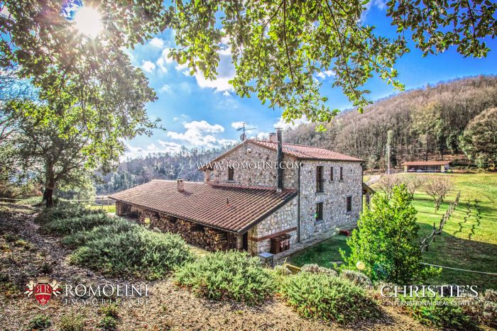 FARMHOUSE WITH HORSE PADDOCK FOR SALE IN MAREMMA, ROCCASTRADA